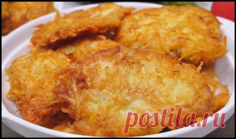 Потрясающая курица в картофельной соломке - очень нежное и сочное мясо!
