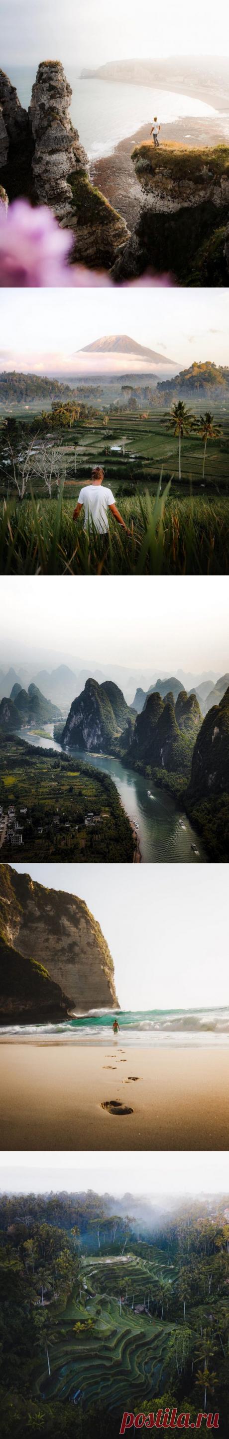 Лучшие пейзажи планеты / Туристический спутник
