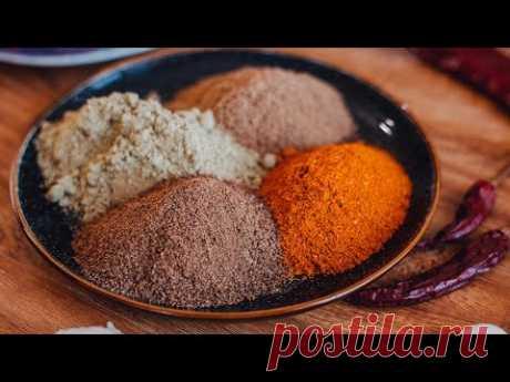 Сванская соль! Легенда грузинской кухни. Готовит сван