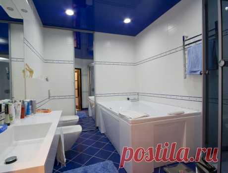 Из чего сделать потолок в ванной: советы специалистов – Roomble.com