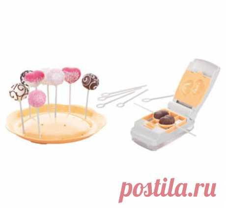 Формочки для пирожного cake pops DELICIA, 6 видов: купить по выгодной цене в интернет-магазине TESCOMA ®