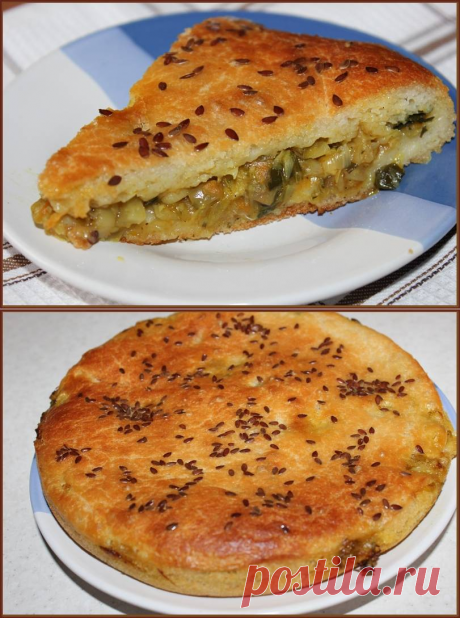 Заливной дрожжевой постный пирог с капустой : mila_iva55 — ЖЖ