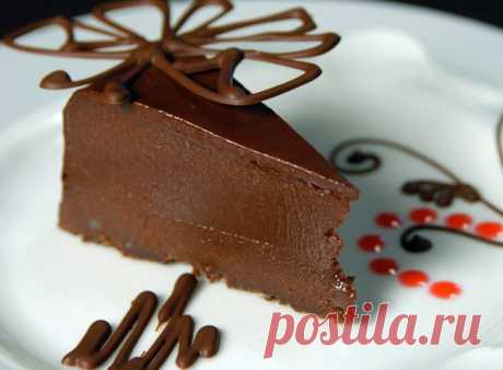 "Торт ""Нэмесис шоколад"" от шеф-повара Янив Гур-Арье."