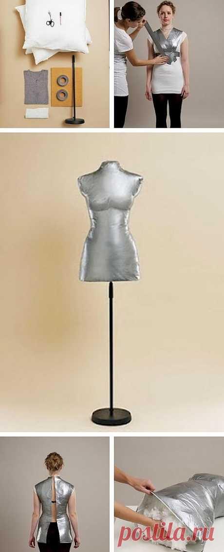 МК Манекена по своим меркам / Ловим пипсы / Модный сайт о стильной переделке одежды и интерьера