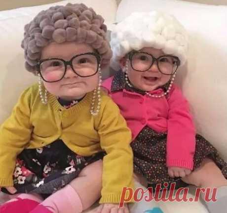 Симпатичные бабули)))