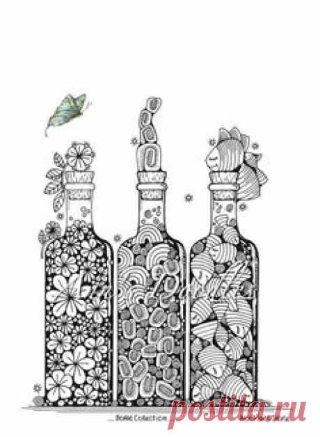 Bottles doodle