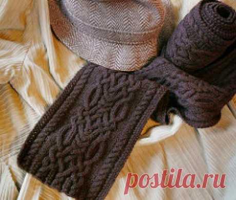 Шарф Cipher : ru_knitting