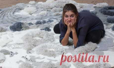 Мастерица из Португалии создает «живые кораллы» из остатков ткани – Ярмарка Мастеров