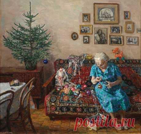 Душевная картина. Егор Зайцев, «Рождественская елка»