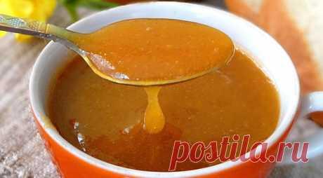 Быстрое повидло из персиков, пошаговый рецепт с фото