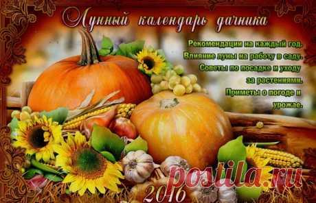 ЛУННЫЙ ПОСЕВНОЙ КАЛЕНДАРЬ НА 2016 ГОД.