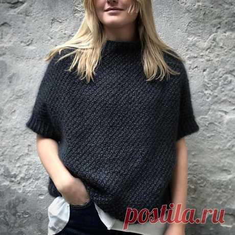 Пуловер кимоно Maja - Вяжи.ру