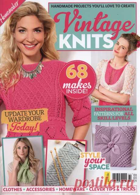 "Журнал ""Vintage Knits"" 2018г"