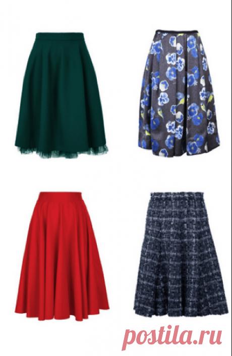 Шьем юбку-полусолнце (Шитье и крой) – Журнал Вдохновение Рукодельницы