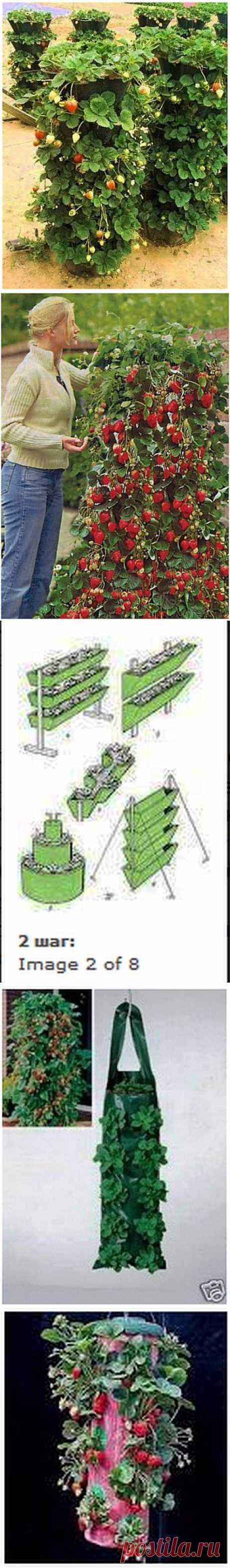 Как соорудить вертикальную грядку | Самоделкино