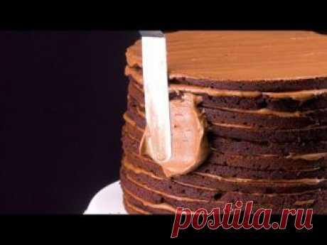 Знаменитый Шоколадный Торт Нью-Йоркер. Рецепт - ВЫШЕ всех похвал!