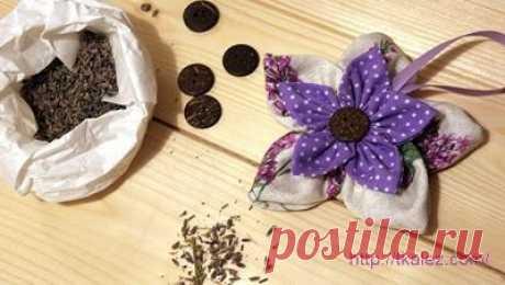 Ароматы для дома: Как сшить арома мешочек «Цветок»