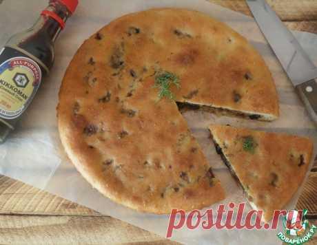 Постный заливной пирог с капустой – кулинарный рецепт