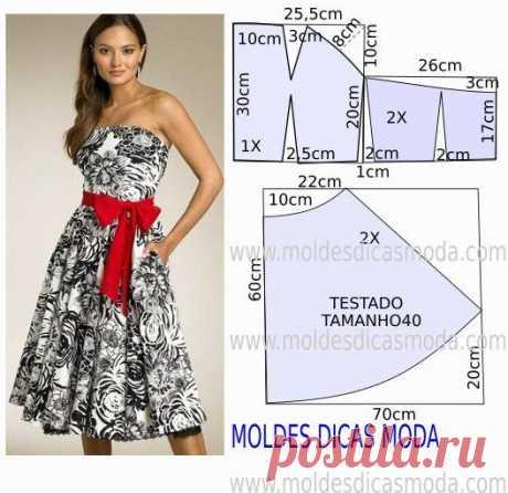 Летние платья с простыми выкройками. Сообщение №7