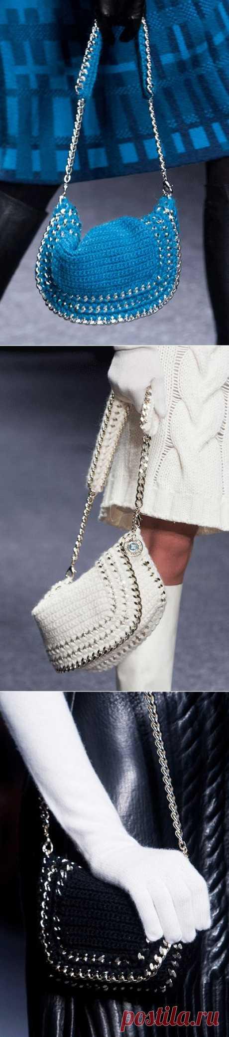 Вязаная мода с подиума