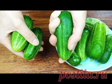 I don't buy cucumbers in winter anymore! Great way to store cucumbers all year round!