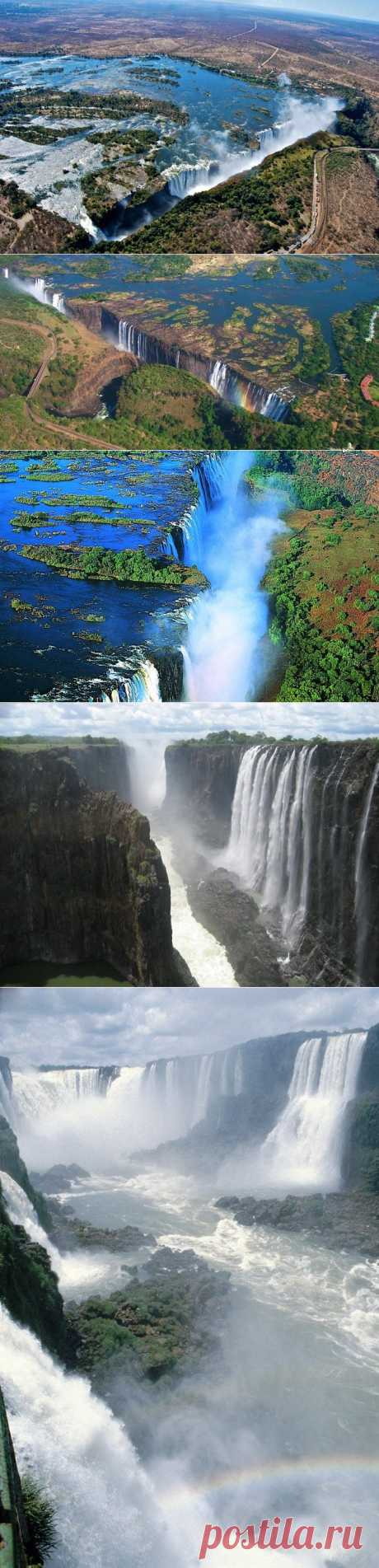 Водопад Виктория – гремящий дым Африки / Туристический спутник