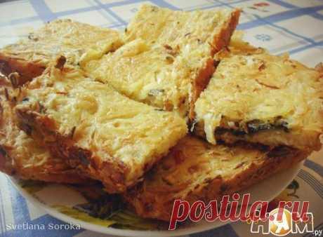 Ленивый пирог с капустой - Рецепт с пошаговыми фотографиями - Ням.ру
