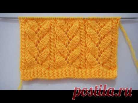 Beautiful Knitting Stitch Pattern For Cardigan/Blanket