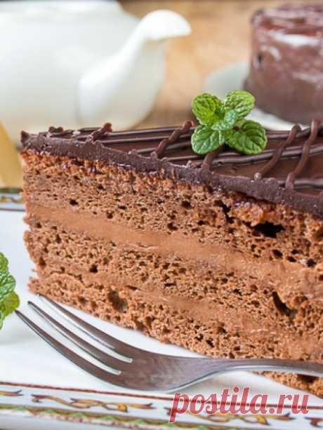 "Рецепт торта ""Прага"" на Вкусном Блоге"