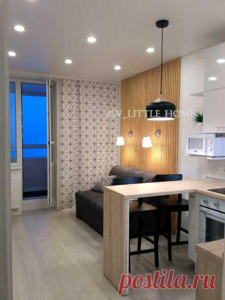Когда есть чувство вкуса, за мини-деньги можно превратить кухню-студию 24 кв. в конфетку | СЕКРЕТЫ КУХНИ | Яндекс Дзен