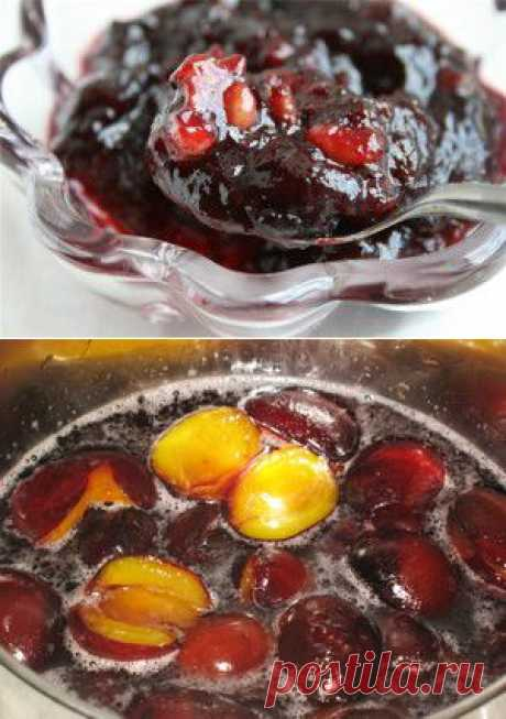 Варенье из слив с имбирем, изюмом и грецкими орехами. | Для дачников.ру