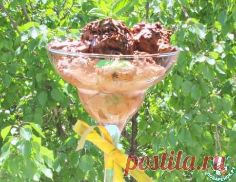 """Шоколадное мороженое """"Бригадейро"""" – кулинарный рецепт"""