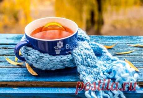 Рецепты чая от простуды, депрессии, кашля, фото