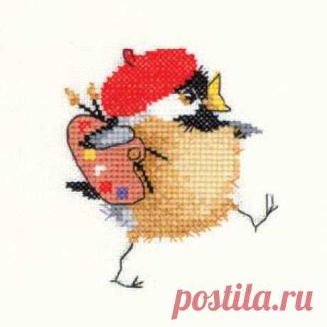 Забавные воробушки Валери Пфайфер: Художник.