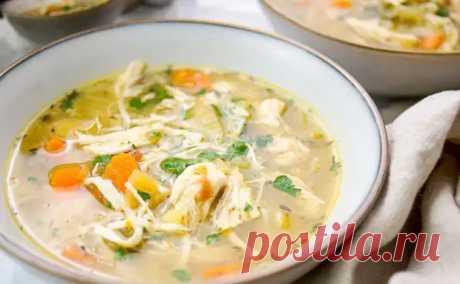 Пряный согревающий суп из курицы без затрат. Делаем из голеней и обходимся без лапши - Steak Lovers - медиаплатформа МирТесен