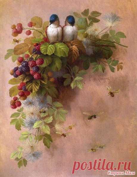 «Автор всей этой красоты - Paul de Longpr'e (1855-1911)» — карточка пользователя Татьяна С. в Яндекс.Коллекциях