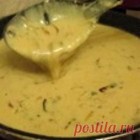 Луково-сметанный соус Кулинарный рецепт