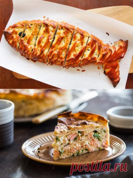 Рыбный пирог: рецепты от Шефмаркет