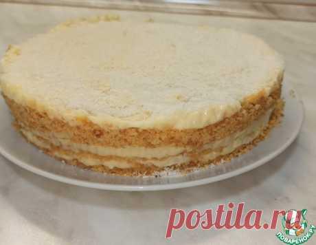 Торт Пломбир без духовки – кулинарный рецепт