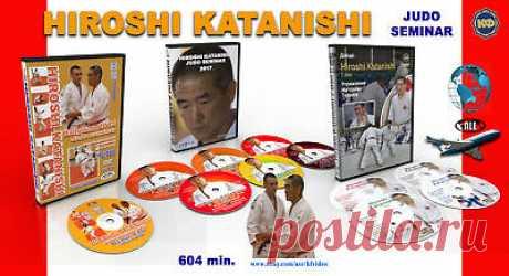 Judo. Collection of 11 DVD. Hiroshi Katanishi. 604 minutes.  | eBay Nage Waza - seoi-nage, ippon-seoi-nage, kouchi-gari. Nel secondo film, Katanishi mostra esercizi per la tecnica del Nage Waza: sasae-tsurikomi-ashi, ouchi-gari, de-ashi-harai, okuri-ashi-harai. Nel terzo film, Katanishi mostra esercizi per la tecnica del Nage Waza - uchi-mata.