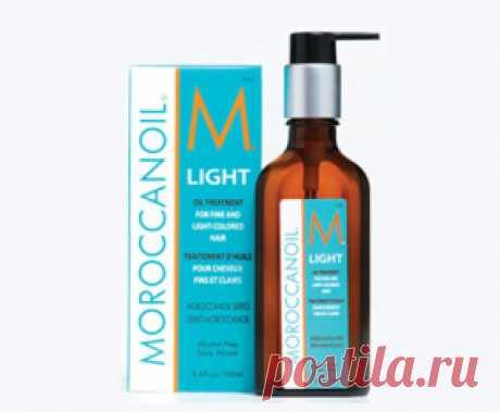 Хорошее ли масло - Легкое ухаживающее масло MoroccanOil ?