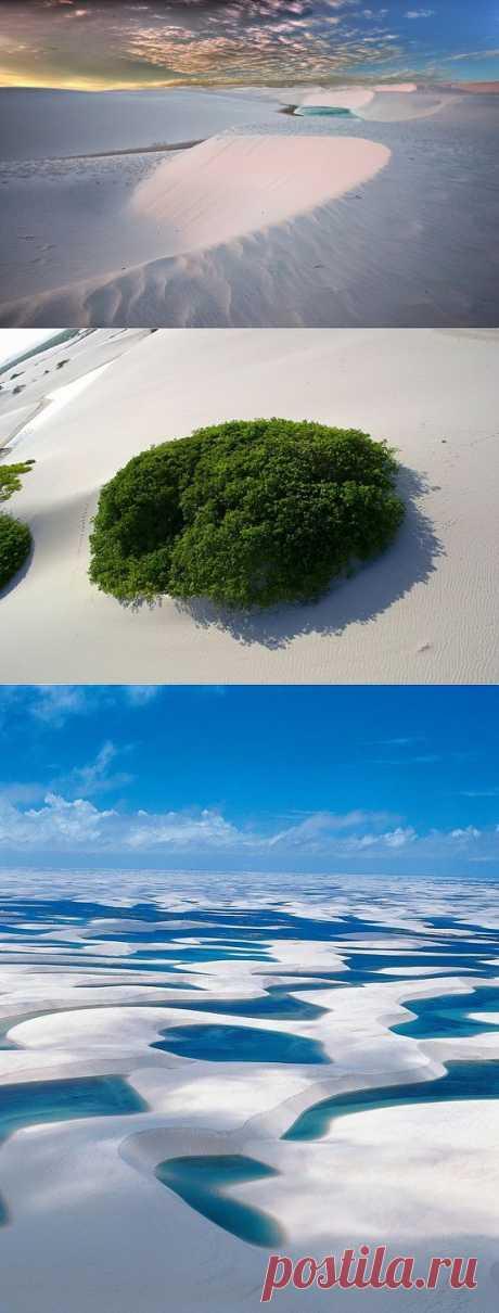 (+1) тема - Чудо бразильской природы – простыни Мараньяна (ФОТО) | САМЫЙ СОК!
