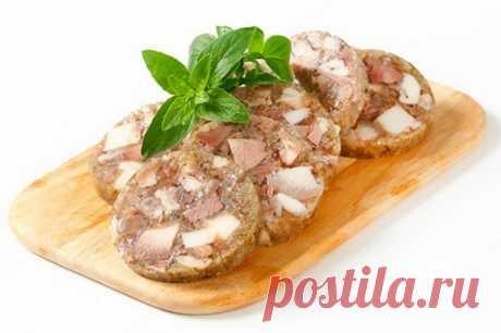 Домашняя колбаса «Зельц» / Простые рецепты