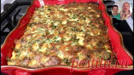 We prepare 3 days! Budgetary summer dinner! Vegetable marrows casserole!