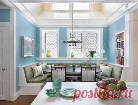 Кухонные уголки, за которыми семья захочет собираться вместе гораздо чаще | Мой дом