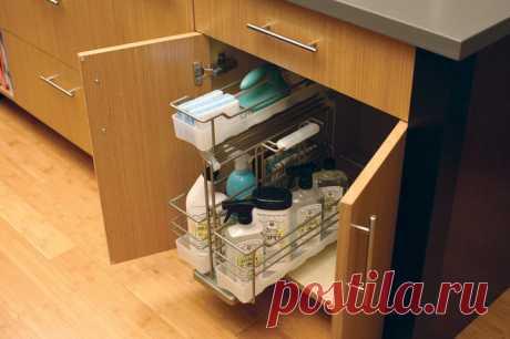 Как хранить тряпки в раковине: губки, тряпки в рулоне прослужат дольше