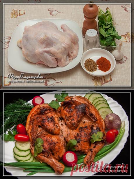 Курица по-аджарски   Домашние рецепты
