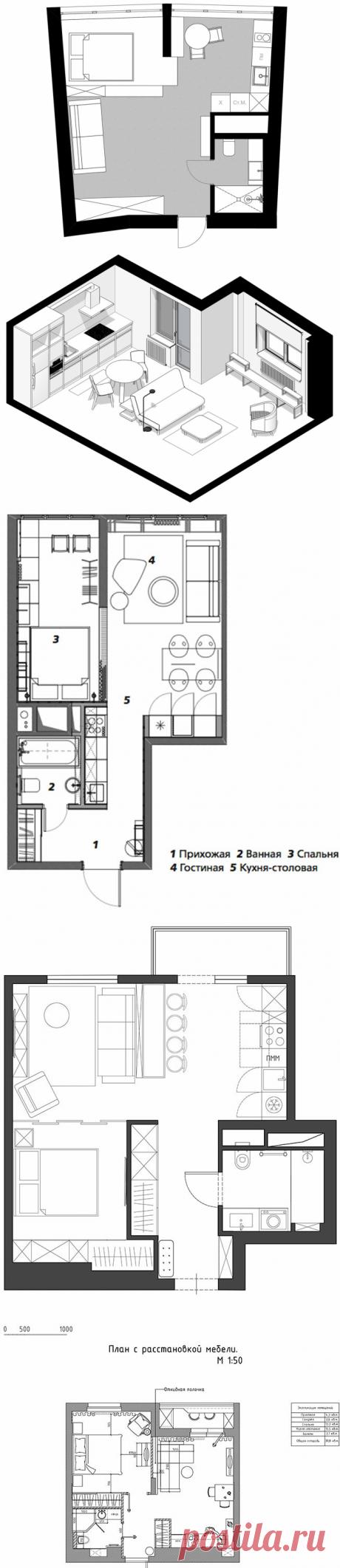 Дизайн маленькой гостиной: 7 вариантов с планировками   Интерьер+Дизайн   Яндекс Дзен