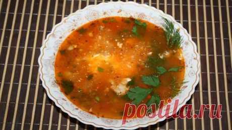 Вкусный рассольник с перловкой и солеными огурцами - рецепт