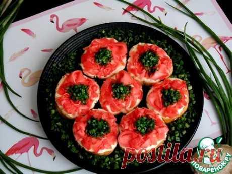 """Бутерброды с имбирем """"Розовый фламинго"""" – кулинарный рецепт"""